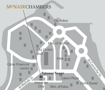McNair Chambers location